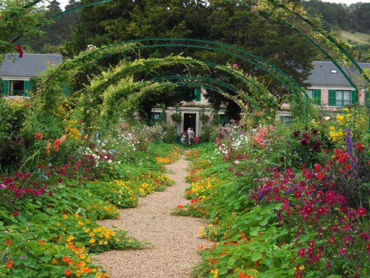 Jardim de Monet Foto: Lucia Zanelato